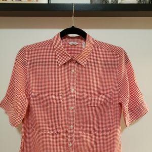 3/25 Woolrich Gingham Short Sleeve Shirt